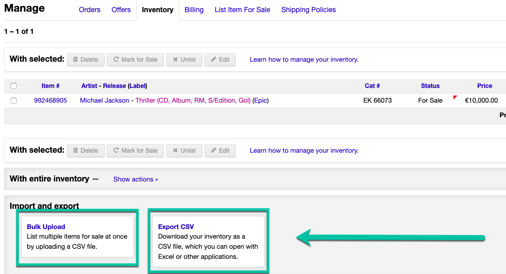 How Do I Use The Bulk Upload Feature? – Discogs